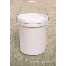 Bucket Plastic with Lid Plastic Injection Molded for Industrial Use