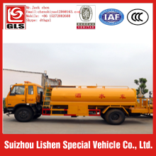 dongfeng 4x2 transportation water tanker truck