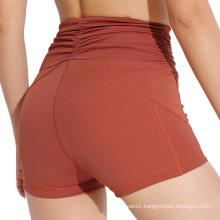 Sports Yoga Shorts Pants Quick Dry Push Up Leggings Fitness Compression Shorts