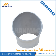 instalación de tuberías sin soldadura de aleación de aluminio