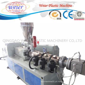 Linha de produção para a extrusão plástica do perfil do PE WPC que faz a máquina