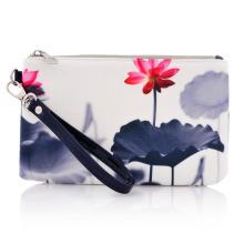 Mode Werbe gedruckt Baumwolle Canvas Kosmetiktasche (YKY7531-2)