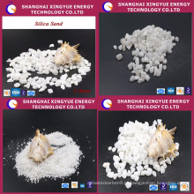Venda quente de areia de sílica de ferro para produção de vidro