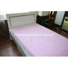 Manta de algodón tejida de lana (NMQ-CB005)