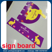 PVC Display Sign Board Printing