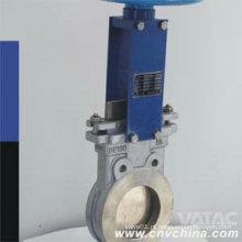 Wafer Tipo Ss316 Porta EPDM Assento Faca Porta Válvula
