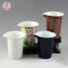 Jingdezhen, porcelana, té, juego, patrones, agua, jarro