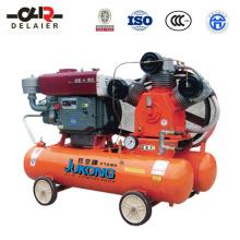 Compresor de aire de pistón diesel de la marca Dlr Jukong E-0.9 / 13