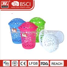 Respectueux de l'environnement plasitc stockage panier /plastic panier à linge