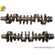 Eje de cigüeñal de hierro dúctil con mecanizado CNC
