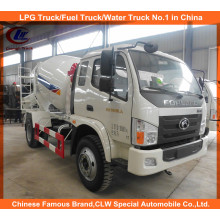 Foton Self Loading Concrete Mixer Trucks 6cbm for Sale