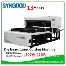 Дерево Лазерная машина 0.45mm, 0.53mm 0.71mm, 1.07mm SG1218-Syngood Co2 400W