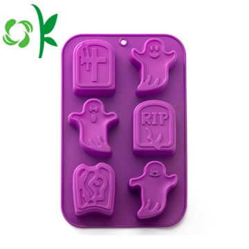Silikonformen Brot Halloween Ghost 3D Backformen