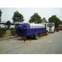 Dongfeng de alta presión del camión de limpieza de alcantarillado (3 cbm)
