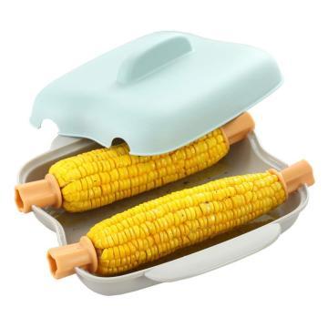 Mehrzweck-mikrowellengeeigneter Mais-Dampfgarer