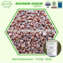 fabricante antioxidante químico de goma vendedor caliente de China TMQ compuestos de goma granulares o de la escama RD CAS NO.26780-96-1