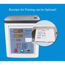 Uma máquina de enchimento de alimentos que está prestes a ser vendida.