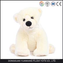 Urso Polar de Plush Lifelike Mini Custom para Venda