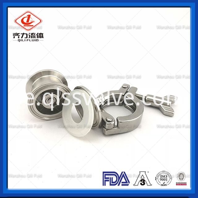 Sanitary Stainless Steel Air Blow Check Valve 5