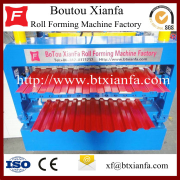 Automatic Metal Plate Cold Roll Forming Machine