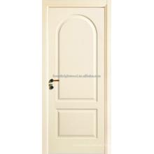 Blanco pintado dos Panel arco Top Swing abriendo puertas de MDF de Interior