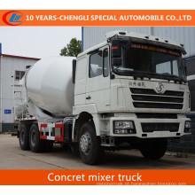Caminhão do misturador concreto do cimento do caminhão do misturador concreto de Shacman 4X2