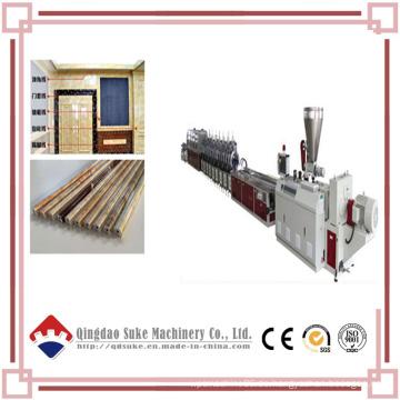 PVC-Marmor-Profil-Kanten-Linie-Verdrängung, die Maschine herstellt