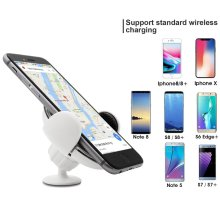 Electric Magnetic Car Holder Wireless Charger