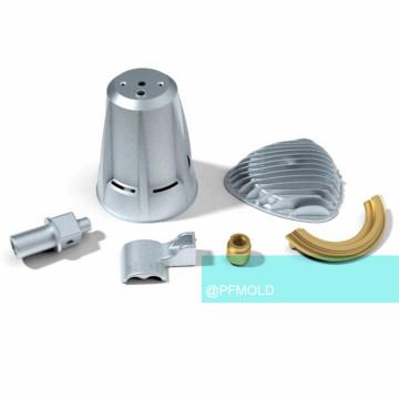 Moule d'injection de métal pour le matériel d'acier inoxydable