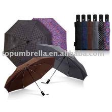 Parapluie automatique ouvert et fermé 3 pli