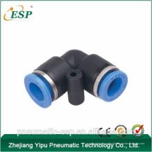 Yuyao ESP en plastique pneumatique raccords coudés