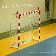 Superficie de suelo de plástico para deportes en el interior para balonmano / baloncesto