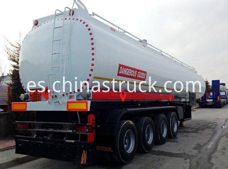 4 Axles Chemical Tanker Trailer
