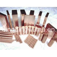 Placa de cobre do tungstênio para o encapsulamento do dissipador de calor