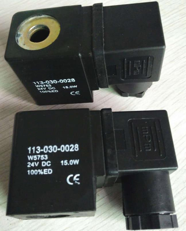 Physical map of 24VDC 0543 water solenoid valve electric magnetic coils