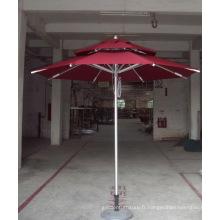 Parasol moyen de patio extérieur de jardin