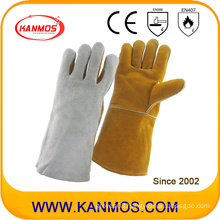 Cowhide Leather Welding Industrial Safety Work Gloves (11120)