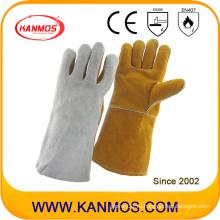 Рабочие перчатки для промышленной безопасности на шельфе натуральной кожи (11120)
