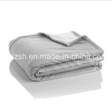 Couverture en polaire extra-épaisse Sherpa à deux plis fabriquée en Chine