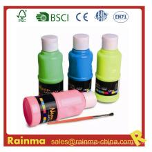 Акриловые краски в бутылках для студента-художника
