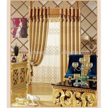 Cortina hecha a mano al por mayor cortina motorizada del ojete