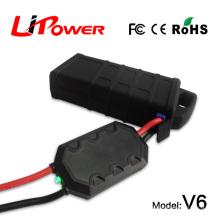 Batterie à ions de lithium de grande capacité 14000mAh 12v, puissance de démarrage, alimentation de voiture, avec câble de batterie