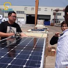 Haute puissance adapté aux besoins du client de bonne qualité bas prix de panneau solaire de 250W mono