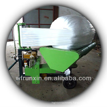 bale wrapper for round bales