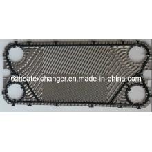 Placa para intercambiador de calor (igual a M15B / M15M)