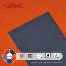Tissu aramide ignifuge pour le pétrole et le gaz et l'industrie de mine et de fer et d'acier