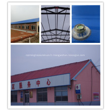 Feuille de toiture anti-UV de papier d'aluminium