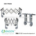 Church used stainless steel coffin trolley mortuary equipment