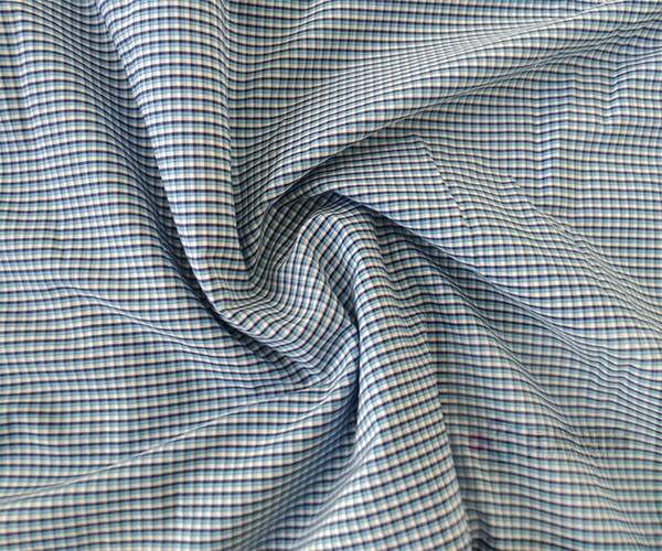 New Plain Woven 100% Cotton Striped Fabric2