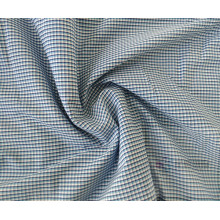 New Plain Woven 100% Cotton Checked Fabric
